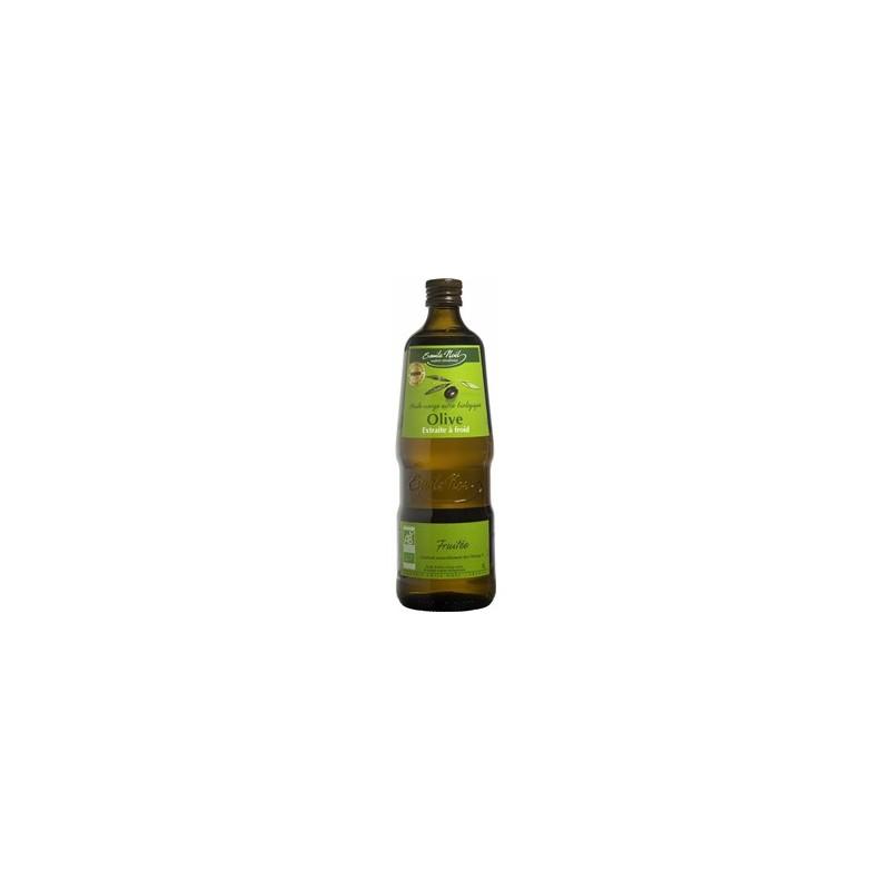 Produits Bio-Huile d'olive bio saveur fruitée- 1 litre-BIODIS