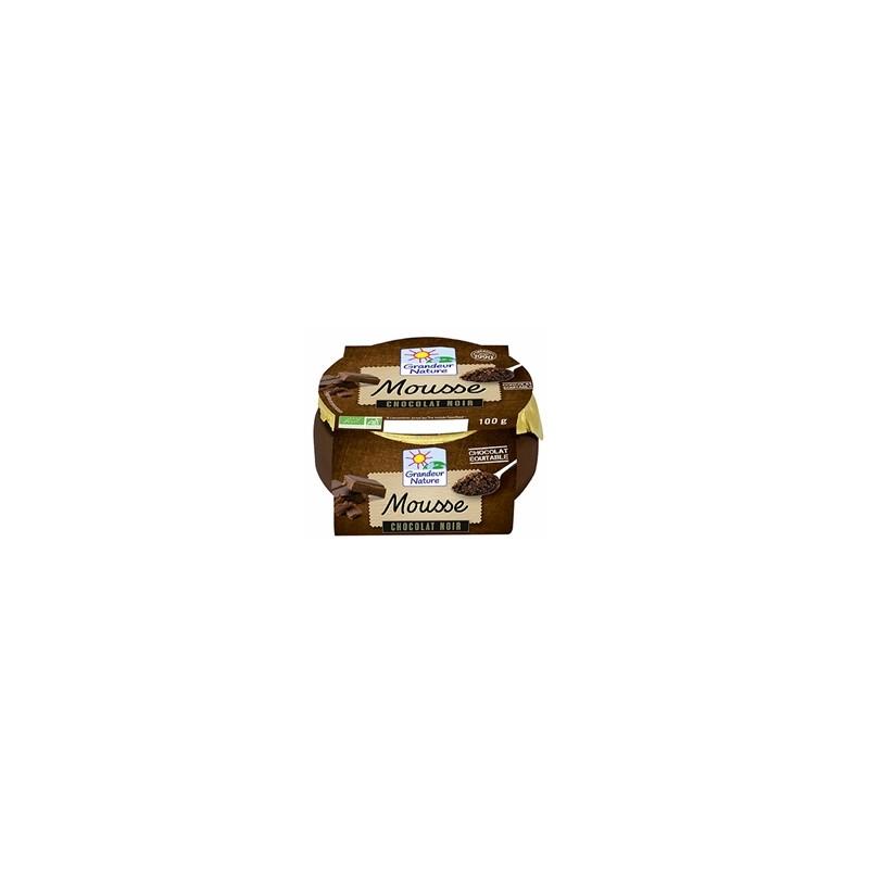 Le frais-Mousse chocolat noir - 100 g-BIODIS FRAIS