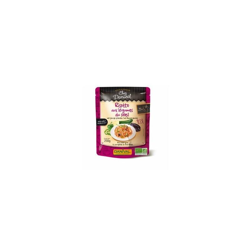 Produits Bio-Risotto légumes du soleil - 4 personnes-BIODIS
