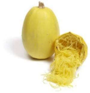 Potimarron, courges-Courge spaghetti bio- 1.5kg env.-LEGUMES DE VALBO