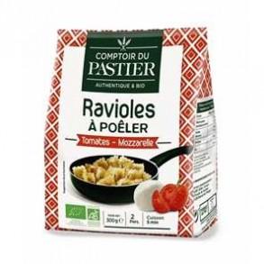 Pizza et pâtes bio-Ravioles bio tomate & mozzarella-BIODIS FRAIS