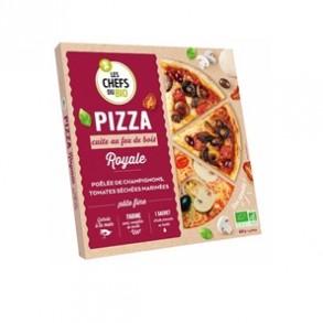 Pizza et pâtes bio-Pizza bio Royale- 400 grs-BIODIS FRAIS