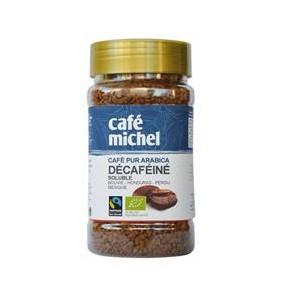 Café et tisane-Café décaféiné soluble bio-100 g-BIODIS