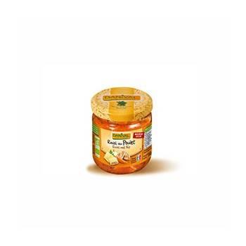 Plats cuisinés-Ravioli au poulet - Bio 670 grs-BIODIS