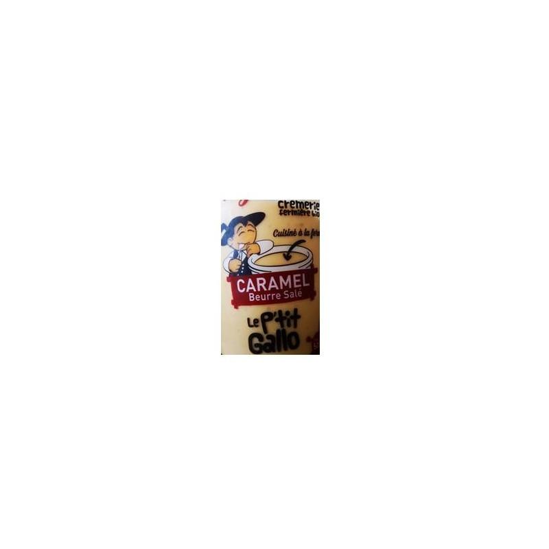 Le frais-Riz au lait caramel beurre salé - bio 500 grs-LE P TIT GALLO