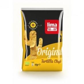 Biscuits apéritifs-Tortilla chips chili bio-90 grs-BIODIS