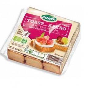 Biscuits apéritifs-Toast pour apéro bio-80 grs-BIODIS