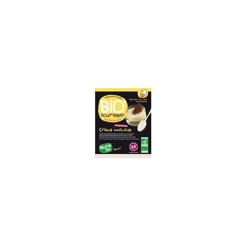 Produits Bio-Préparation crème anglaise bio-sachet de 60g- 1/2 l-BIODIS