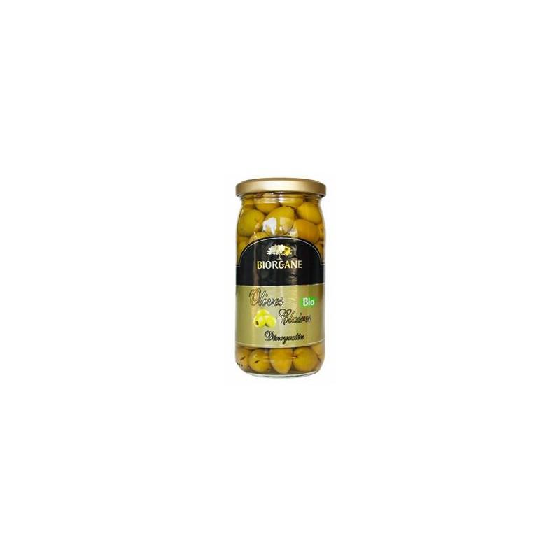 Conserves de légumes-Olives bio dénoyautées -160 grs-BIODIS