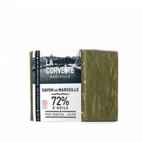 Eco produits pour la maison-Savon de Marseille vert olive 200g-PRODUITS SELECTIONNES