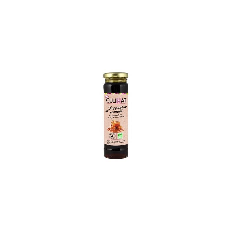 Confitures, compotes et coulis-Nappage caramel bio - 190 g-BIODIS