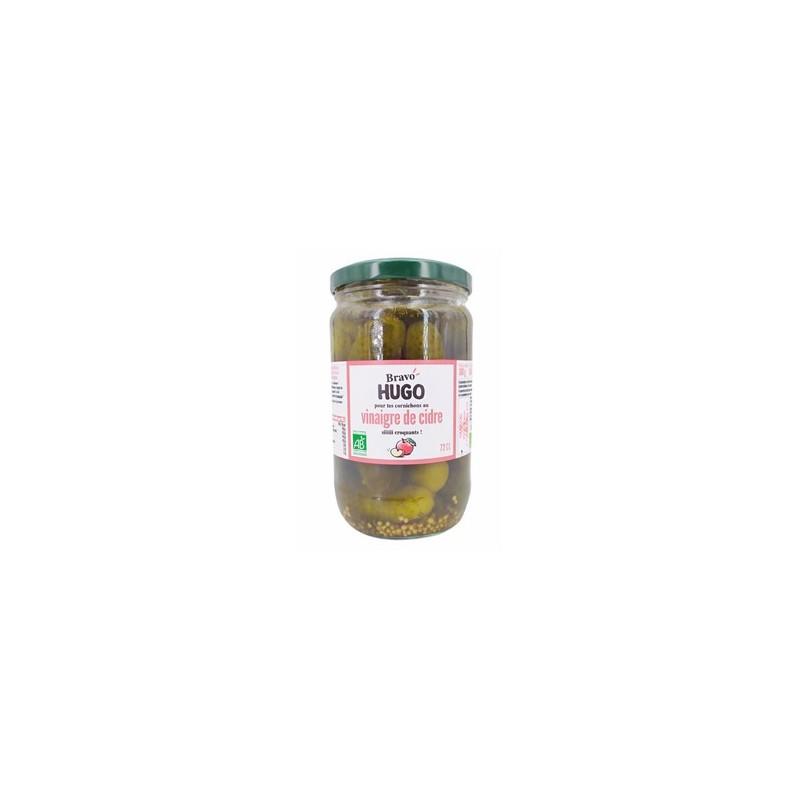 Condiments et sauces-cornichon bio- 72 cl-BIODIS