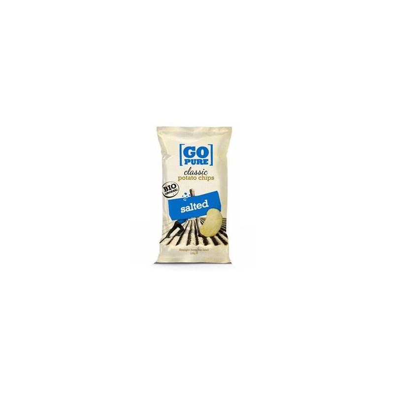 Biscuits apéritifs-Chips salé bio- 125 grs-BIODIS
