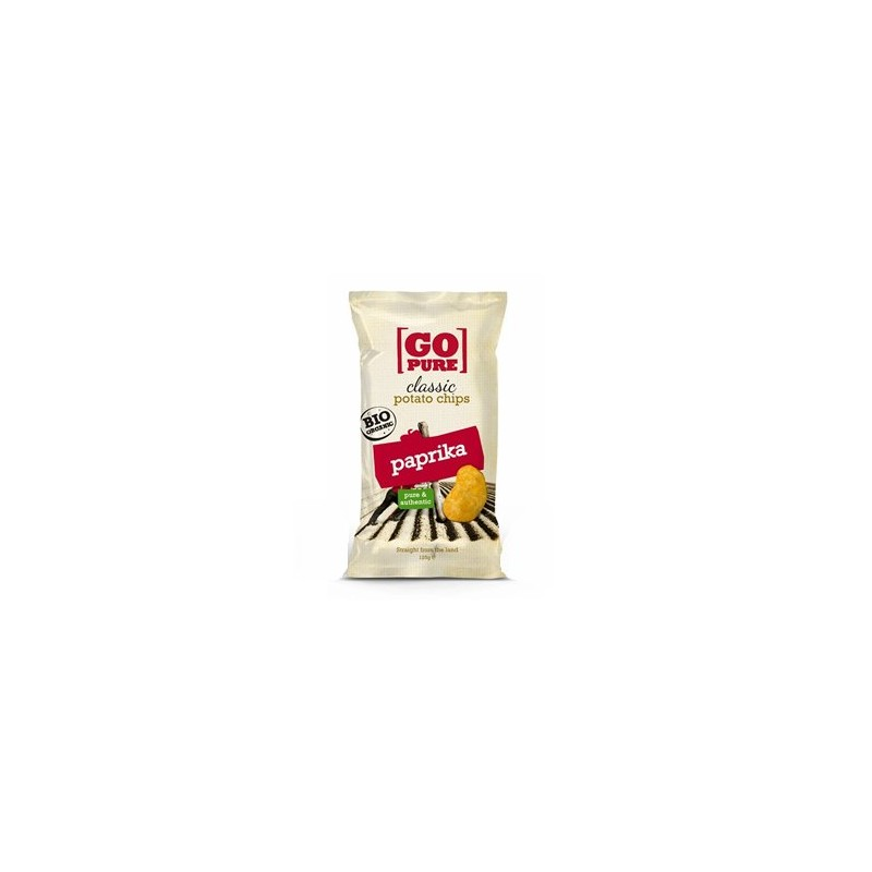 Biscuits apéritifs-Chips salé bio au paprika- 125 grs-BIODIS