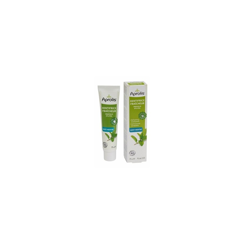 Produits Bio-Dentifrice tonifiant-cosmebio-75 ml-BIODIS