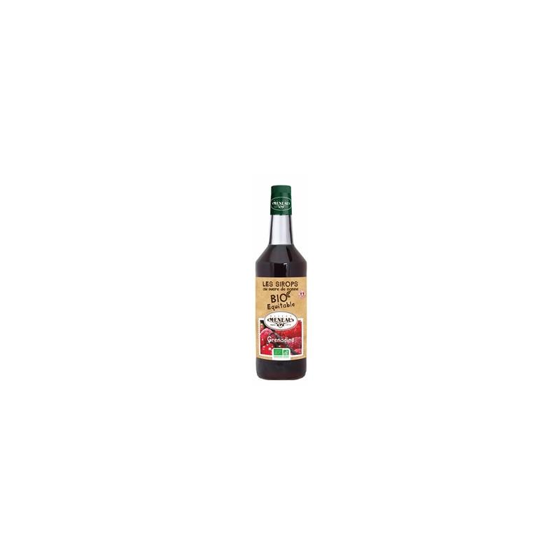 Boisson sans alcool-Sirop de Grenadine (bio) - 1 litre-BIODIS