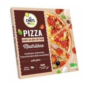 Pizza et pâtes bio-Pizza bio Madrilène- 370 grs-BIODIS FRAIS