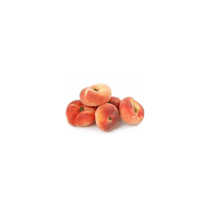 Les fruits d'ailleurs-Pêche plate espagnole - Kg-SUBERY NON BIO