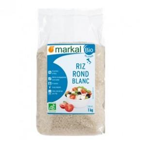 Produits Bio-Riz rond Blanc bio - 1 KG-BIODIS