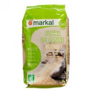 Produits Bio-Sucre de canne blond cristal- kg-BIODIS