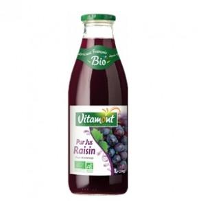 Boisson-Pur jus raisin bio - 1 litre-BIODIS