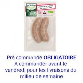 Charcuterie-Andouillette bio par 2 - 250 grs-BIOPORC