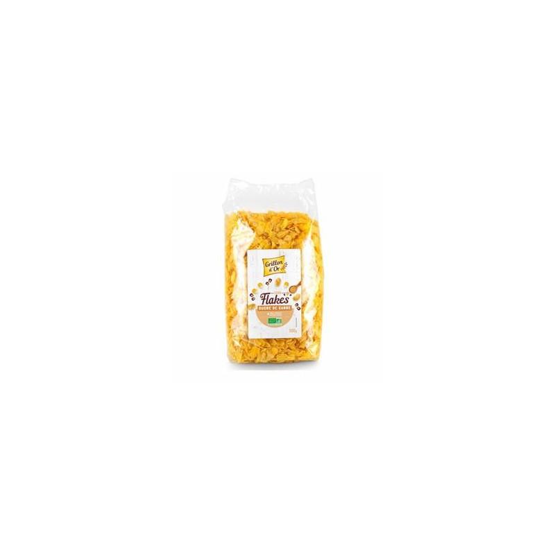 Produits Bio-Corn Flakes pétales bio - 500 g-GRILLON D'OR