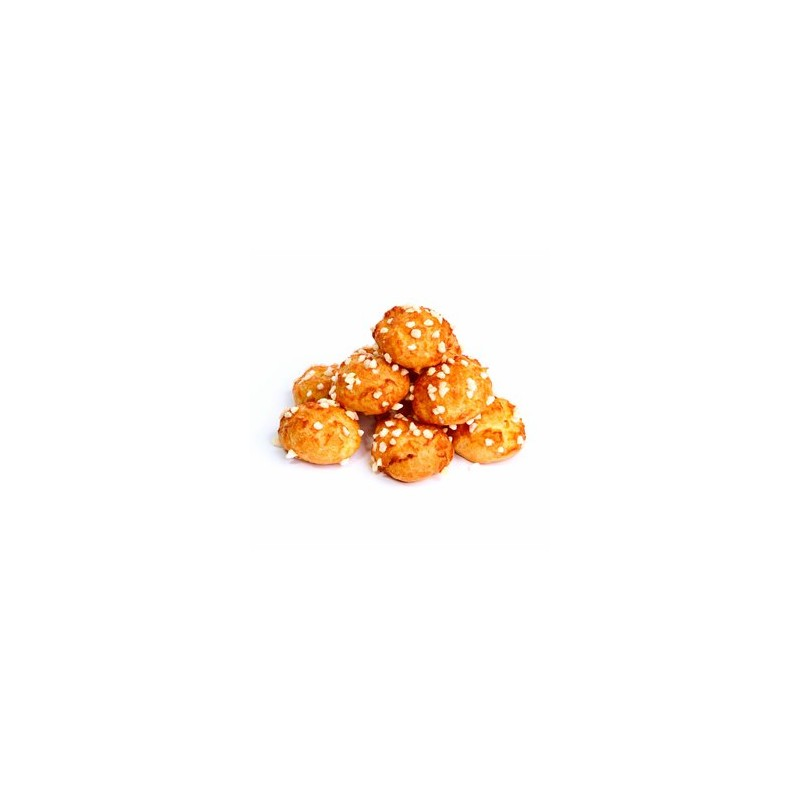 Les viennoiseries-Chouquettes pur beurre de notre boulanger - 10 pièces-FOURNIL DE NICOLAS