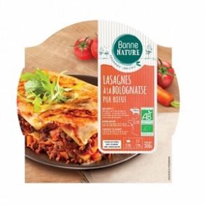 cuisine rapide-Lasagne bio à la bolognaise-300 grs-BIODIS