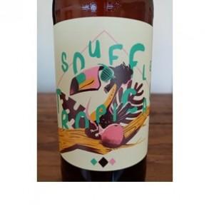 Bières bio locales-Bière bio-Souffle tropical- 33 cl-BRASSERIE DU VIEUX SINGE